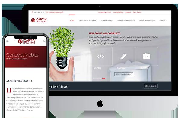 Agence web Bruxelles - Le Concept Mobile