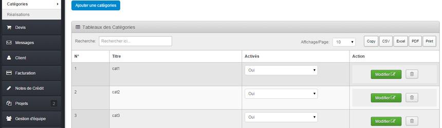 Création Sites Web - SITE WEB CMS